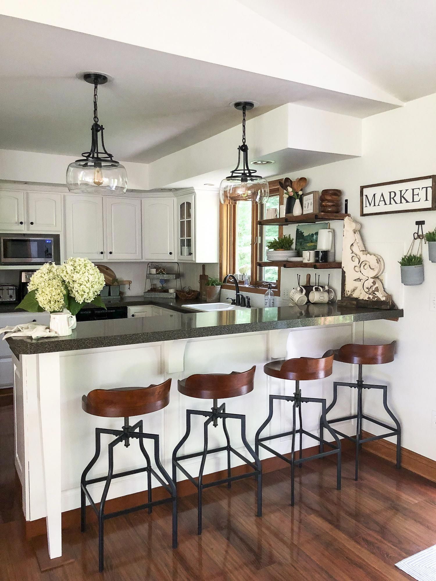 kitchen remodel on a budget the final reveal of our budget rh in pinterest com
