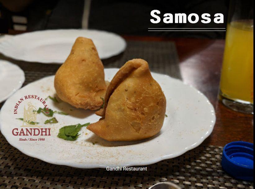 Menu Indian Restaurant Gandhi