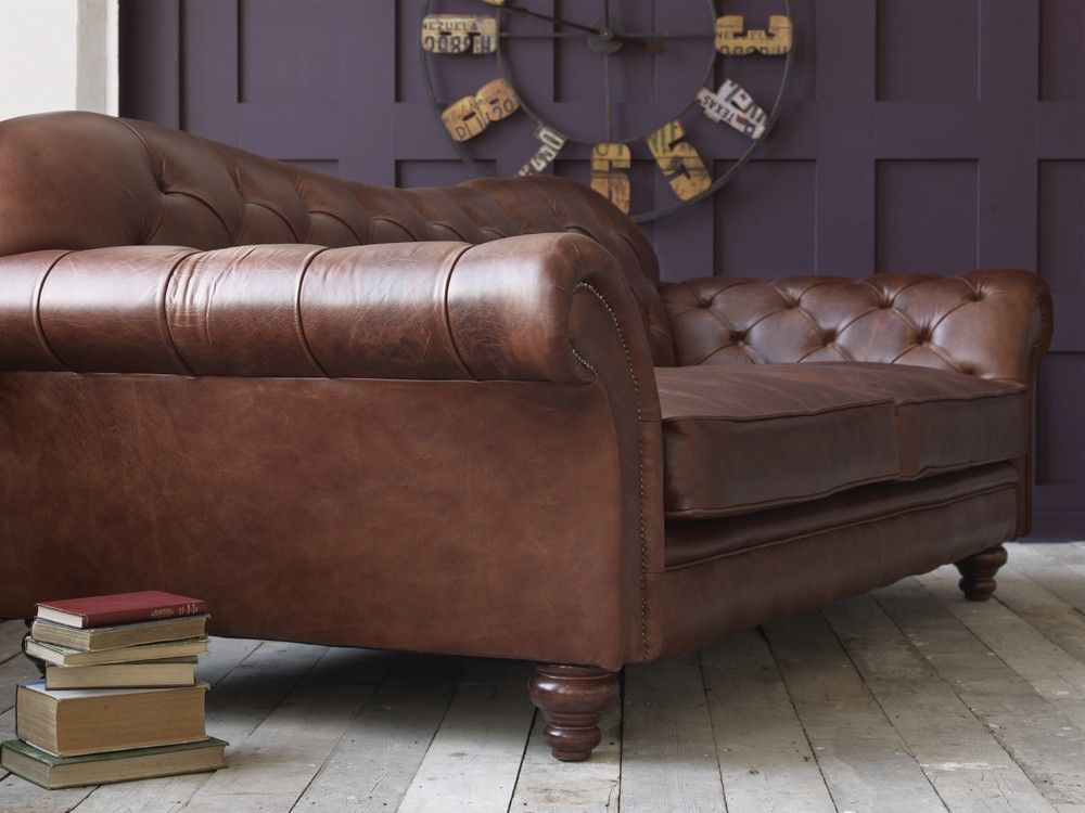 Best Classic Brown Leather Sofa Brown Leather Sofa Leather Sofa 400 x 300