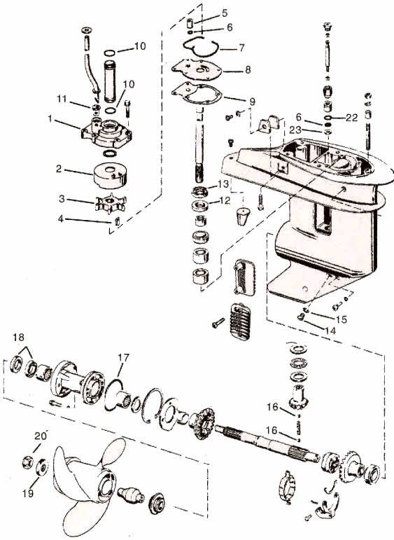 1980 johnson 35 hp wiring diagram