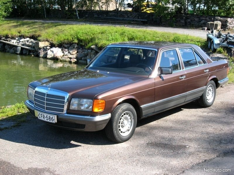 mercedes benz se 280 se museorekisteriss sedan 1980 used rh pinterest es