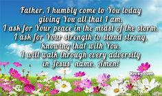 prayers for strength - Google Search