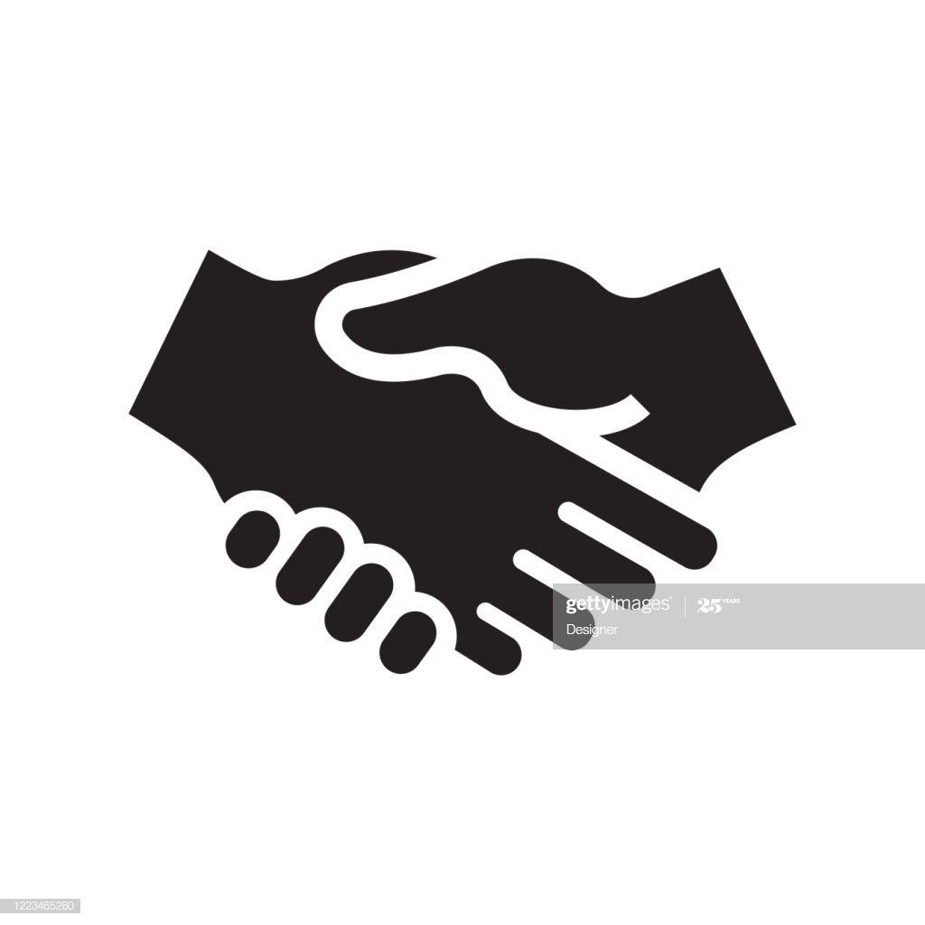 Handshake Icon Vector Symbol Illustration Illustration Vector Icon