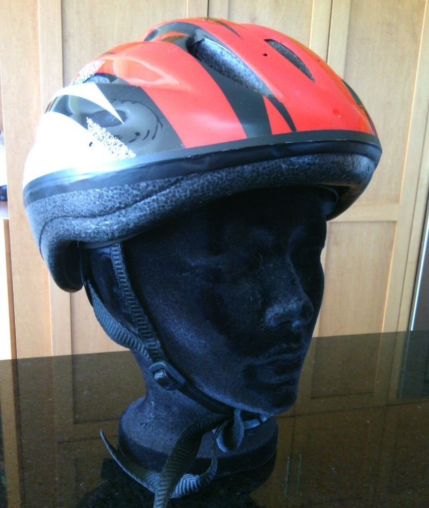 Cycling Bike Helmet Size L 58 62 cm Red Head Protection