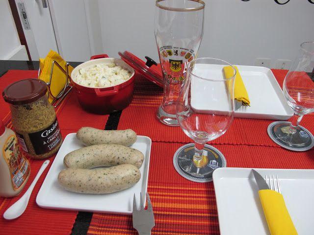 Receber e Celebrar: Recebendo em casa com comida alemã