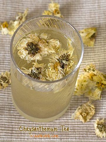 Chrysanthemum Tea Recipe 菊花茶 Chrysanthemum Tea Herbal Teas Recipes Healing Tea