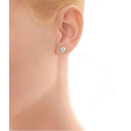 New 1 5 Carat Diamond Stud Earrings Check More At Http Lascrer