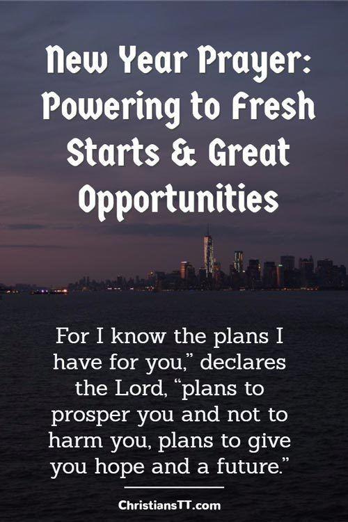 Prayer: New Beginnings, New Opportunities | Prayer | Pinterest ...