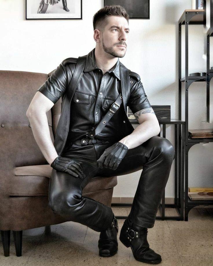 Shop tight leather pants men uk
