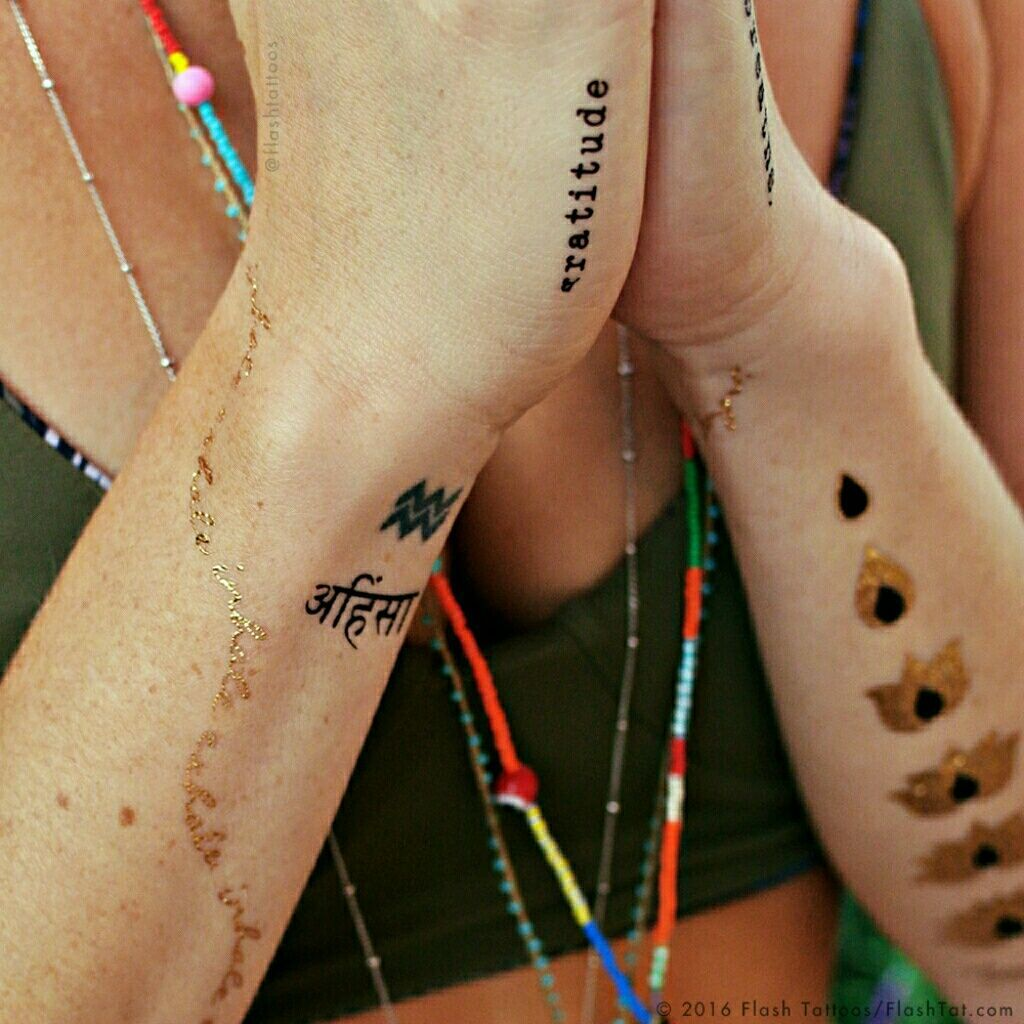 Photo of Yoga Inspired Temp Tattoos! – Homemade Tattoo 2020