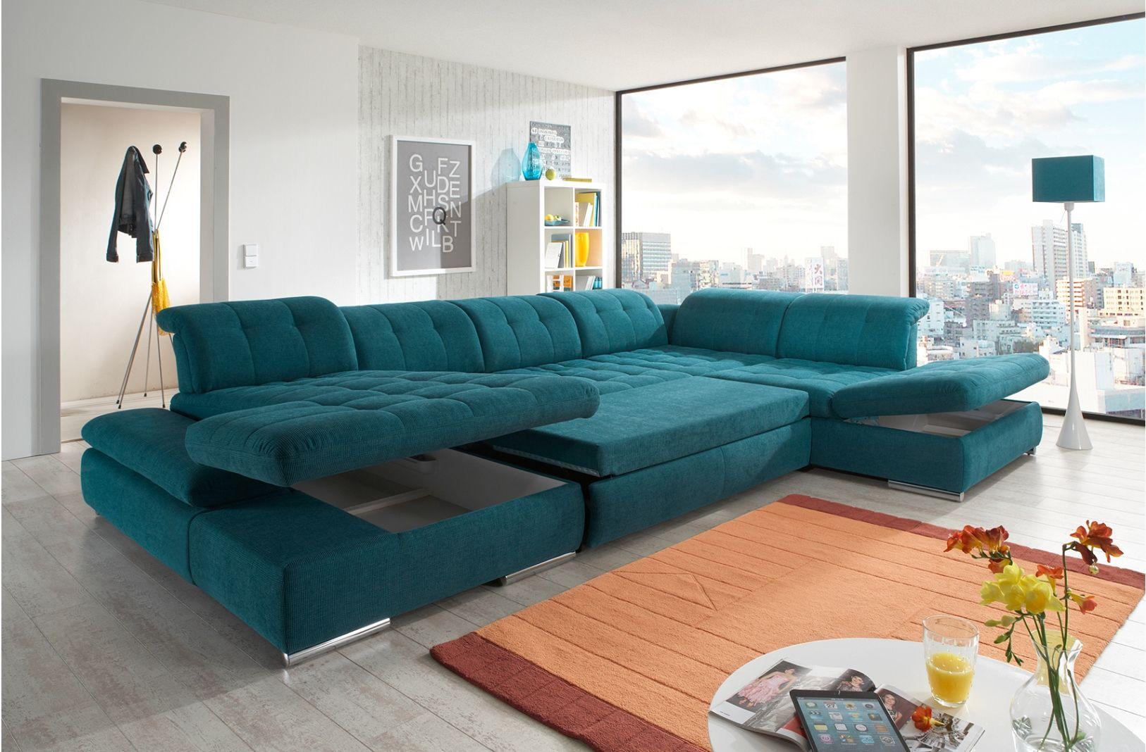 Alpine Sectional Sofa Sleeper With Storage Decoracao De Casa Casas Sala Sofa