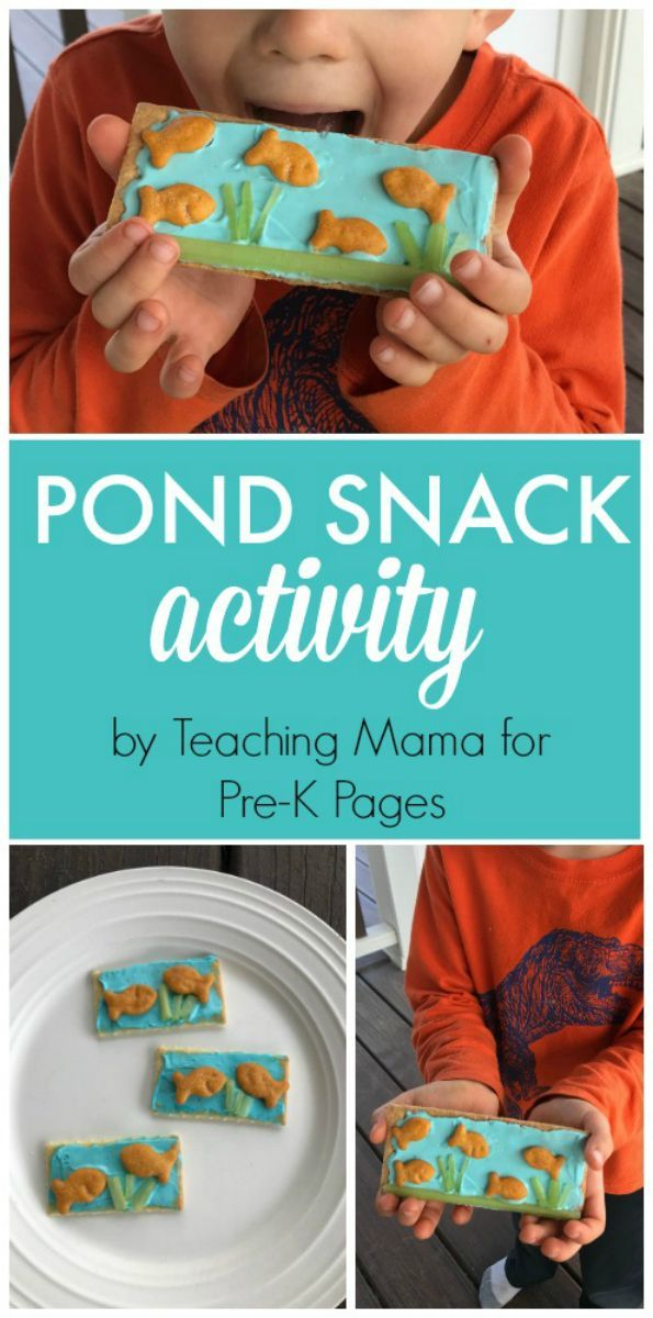 Pond Theme Snack Activity Fun Food Ideas For Kids Preschool