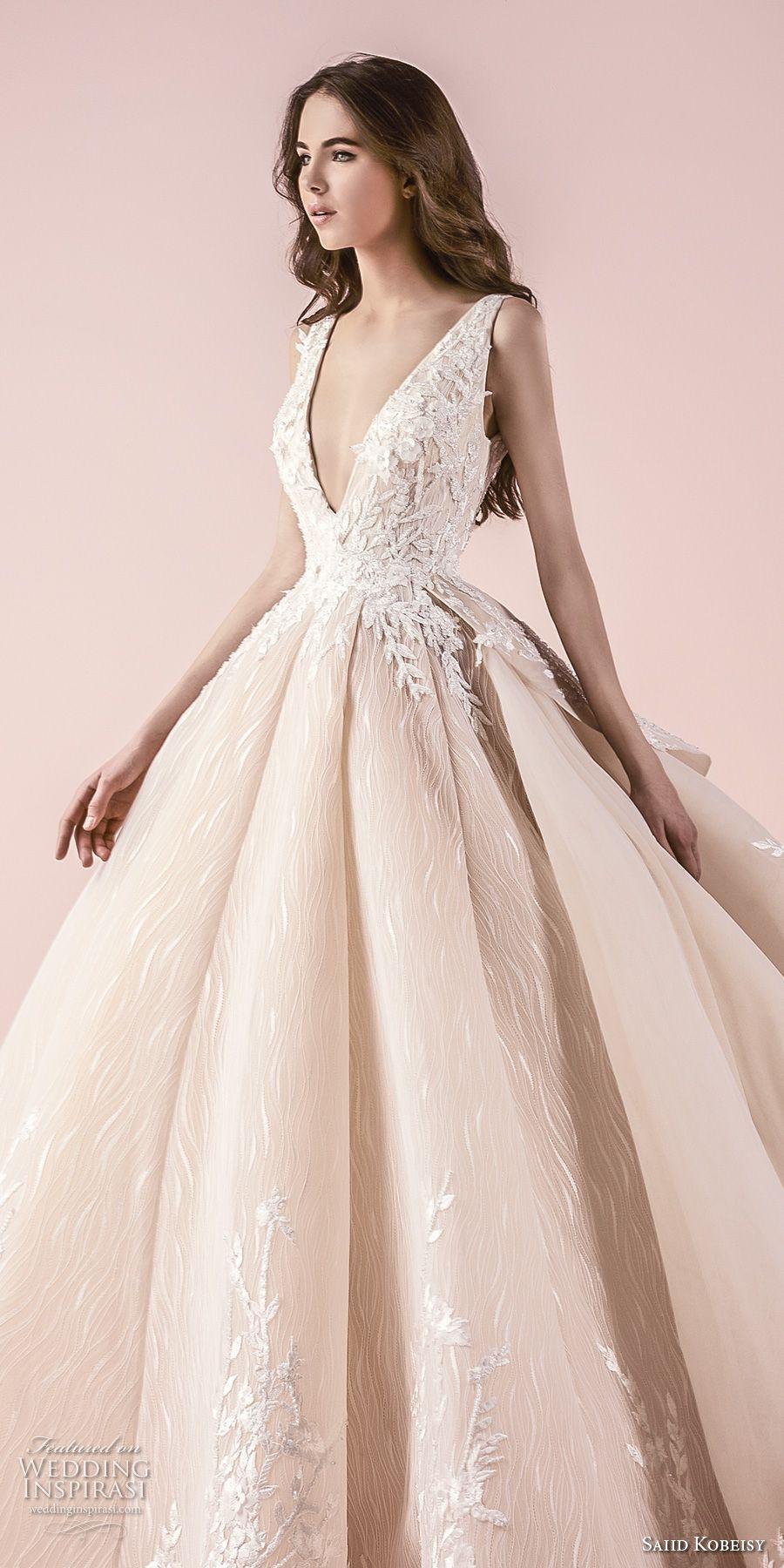 Saiid Kobeisy 2018 Wedding Dresses | Wedding gowns | Pinterest ...