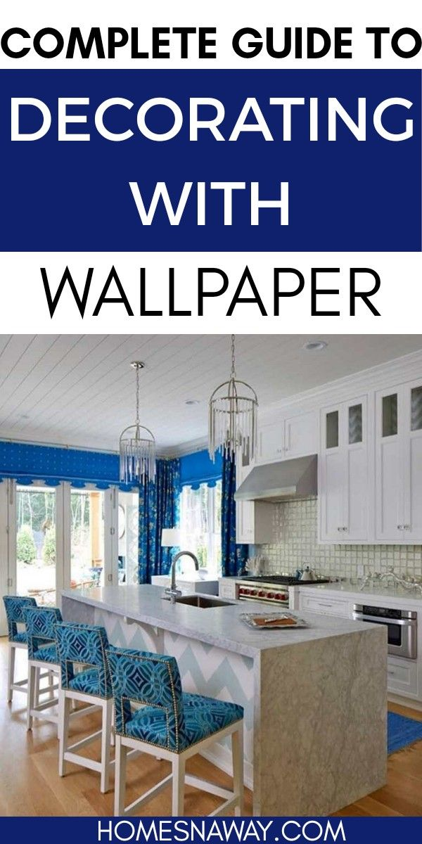 Looking to include wallpaper in your decor? Here is a complete guide on how to choose wallpaper, where to add it and how to decorate with wallpaper #wallpaper #wallpaperideas #wallpaperdecor #wallpaperdecorations #decoratewithwallpaper