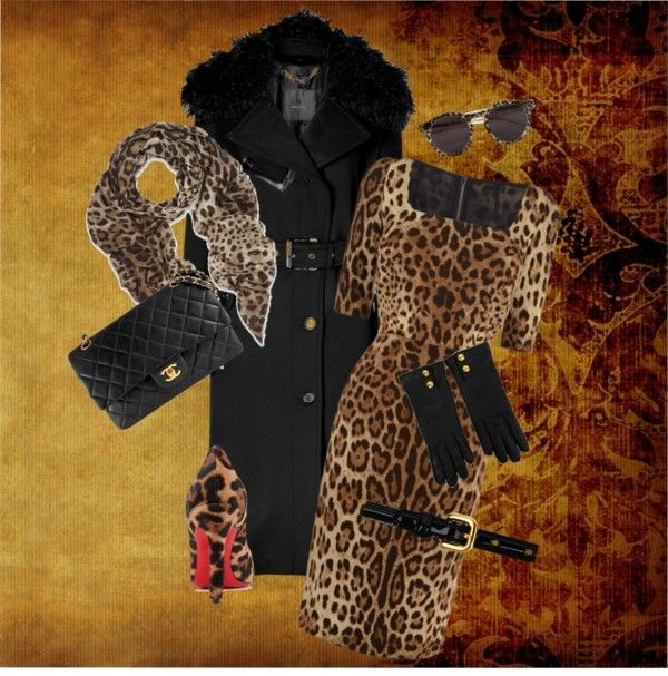 """""""Leopard GlamChicWall"""" by glamchicwall on Polyvore"""