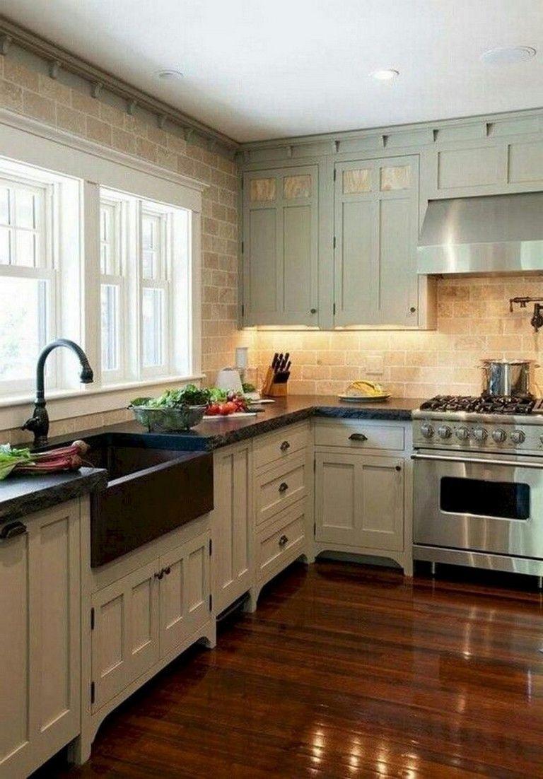 36 brilliant modern farmhouse kitchen sink design ideas kitchen rh pinterest com