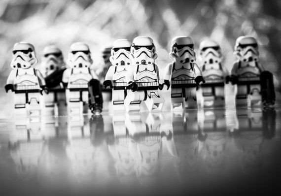 Lego Stormtroopers Print - Lego Star Wars, Star Wars Print, Stormtroopers, Star Wars Poster - Lego Star Wars Photography Print