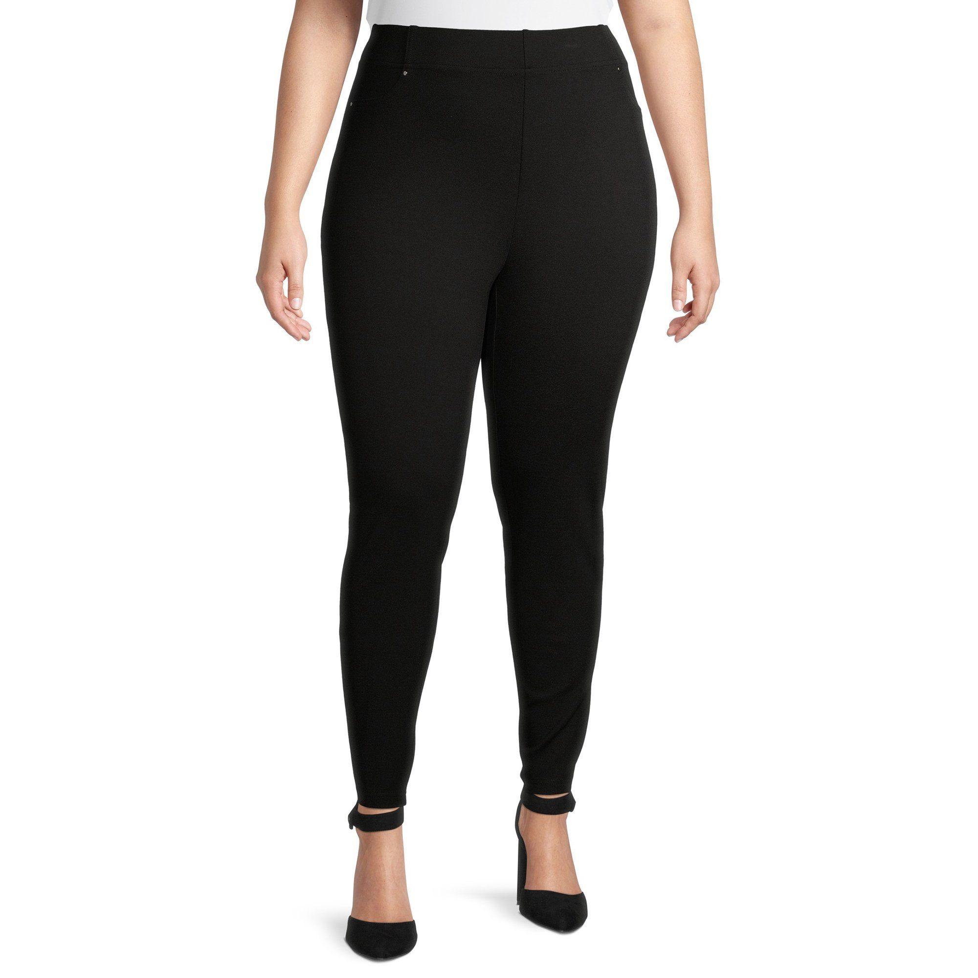 Counterparts Counterparts Women S Plus Size Pull On Solid Ponte Pants Walmart Com Ponte Pants Pants Plus Size [ 2000 x 2000 Pixel ]