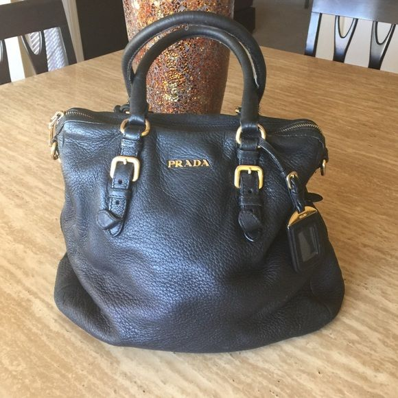 Authentic Vintage Prada Bag Good Condition A Little Unsched On Handle Bags Hobos