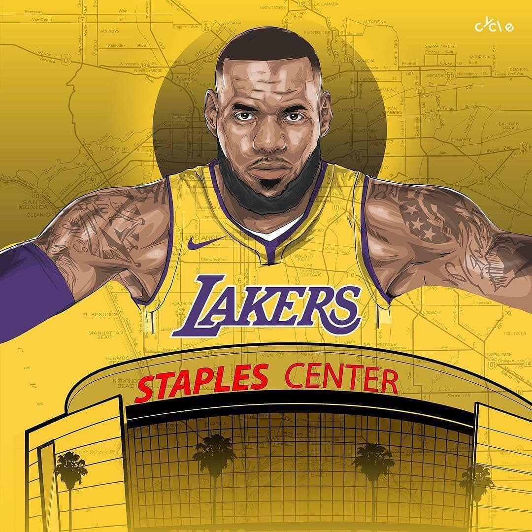 First Home Game Of The Season Tonight Anybody Goin Lakermemes818 Lakers Lakernation Nba Lakeshow Bbb Lonzo Nbame Lakers Memes Nba Lebron James Lakers
