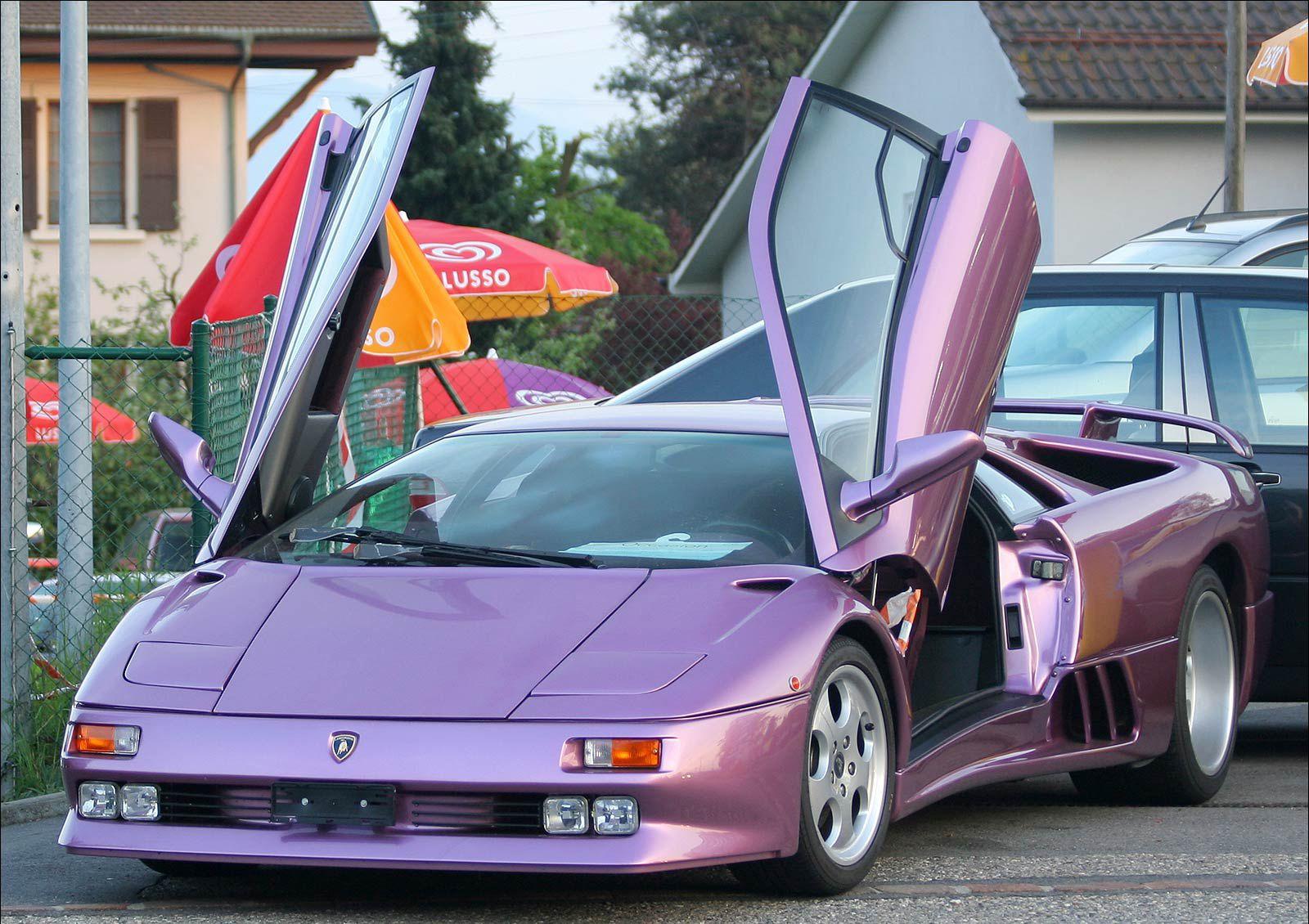 Lamborghini 30th Anniversary Lavender Metallic Purple Colors We