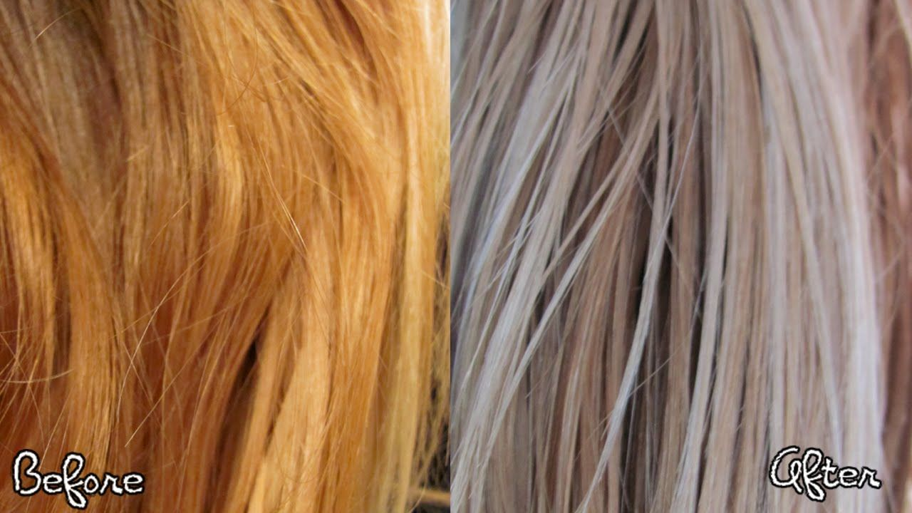 How To Warm Up Your Blonde Hair Diy Hair Toner Hair Color