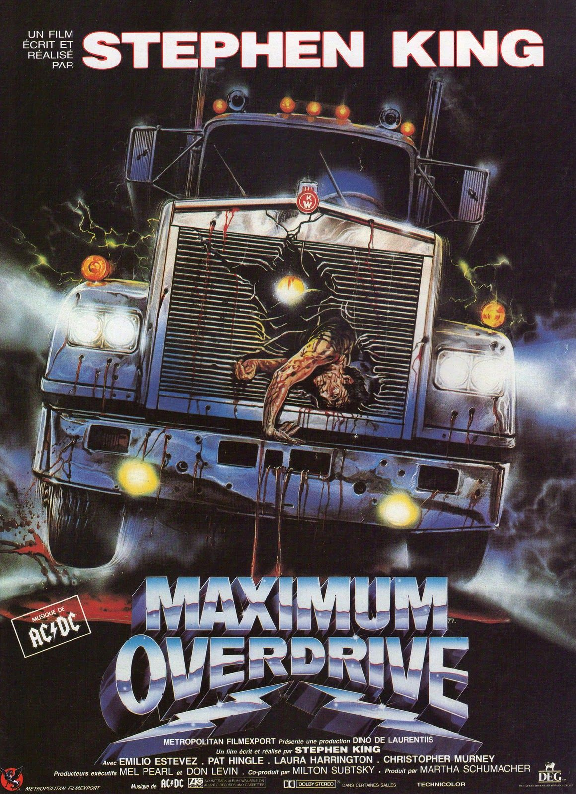 stephen king s maximum overdrive this is fucking awesome credit rh pinterest com