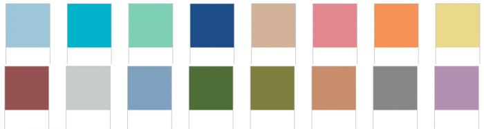 Pantone Spring 2015 Fashion Colours