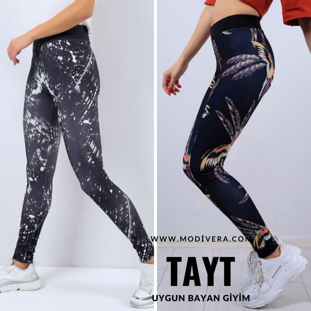 En Ucuz Bayan Tayt Modelleri 2020 Taytlar Giyim Kadin