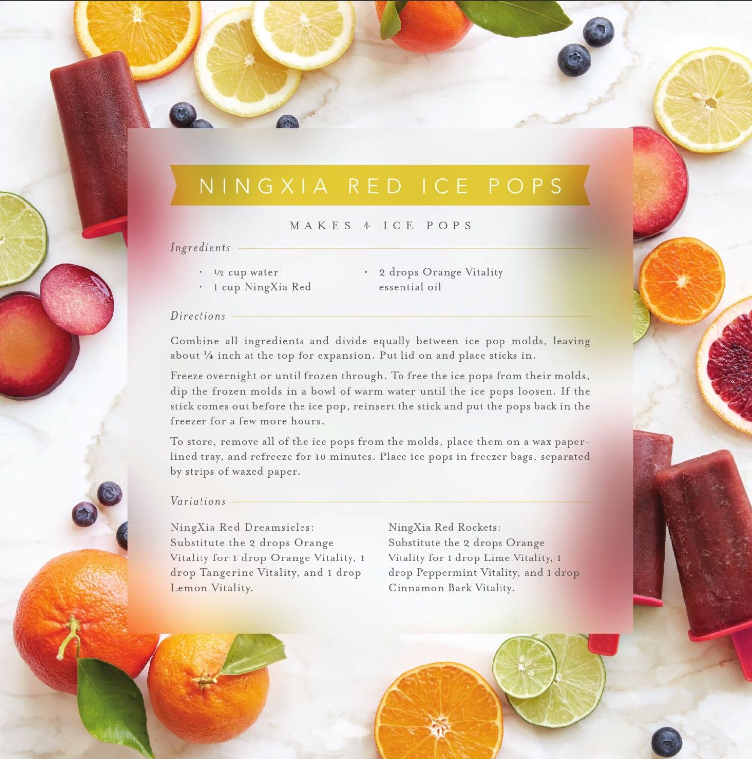 Ningxia Red Popsicle Recipe Yummo Living The Clean