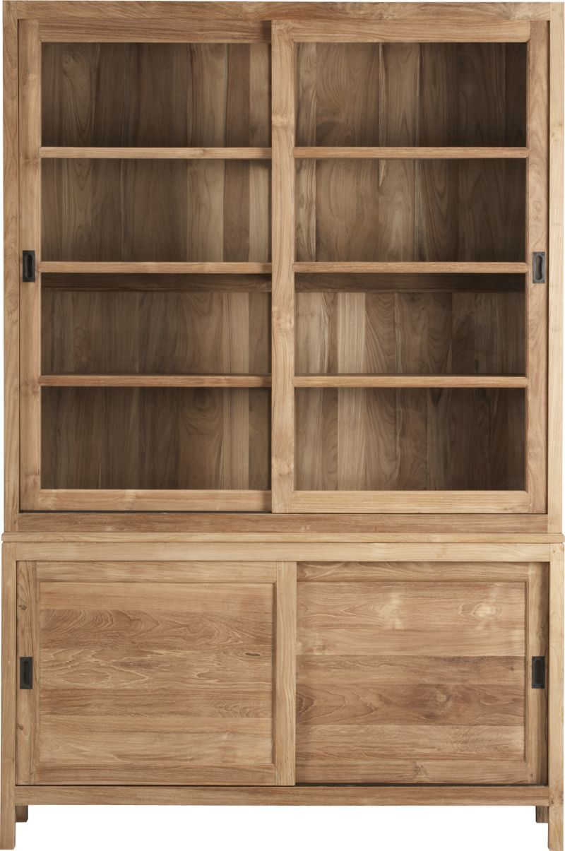 pacifica buffet with hutch top in dining kitchen storage crate rh pinterest com