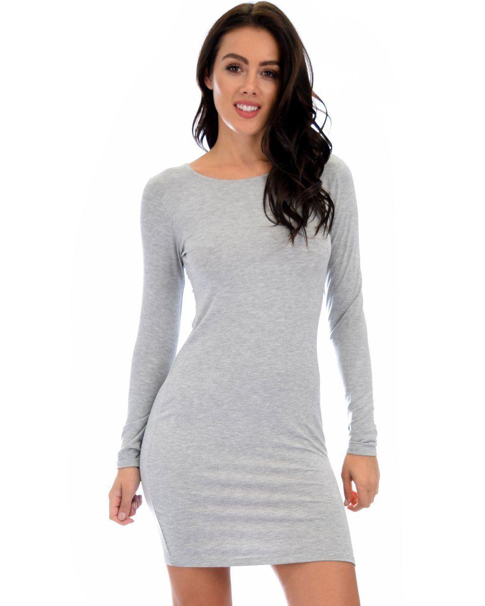 True 2 You 3 4 Sleeve Olive Bodycon Midi Dress Grey Bodycon Dresses Long Sleeve Bodycon Dress Long Sleeve Bodycon [ 1199 x 960 Pixel ]