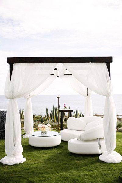 inspiration cool ideas for a summer wedding breezy cabana lounges rh pinterest com