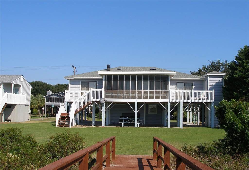 edisto island vacation rentals sc neutral ground beach front rh pinterest com