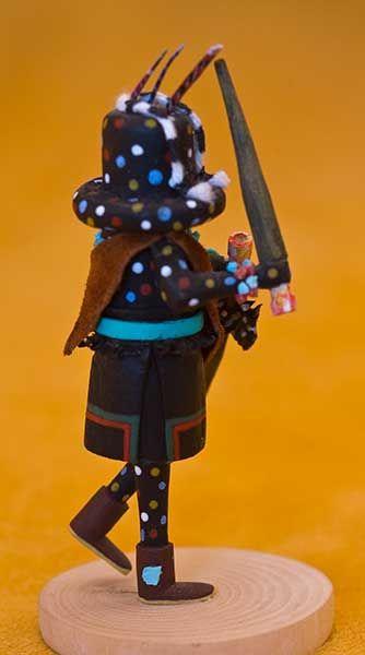 Zuni Kachinas Miniature Zuni Kachina By Lebert Kaskalla