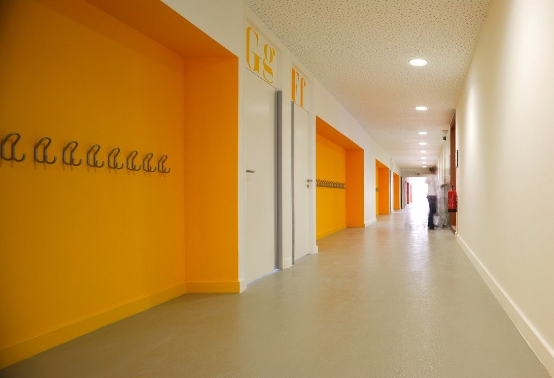 Image result for classroom corridor architecture school - Interior design for school buildings ...