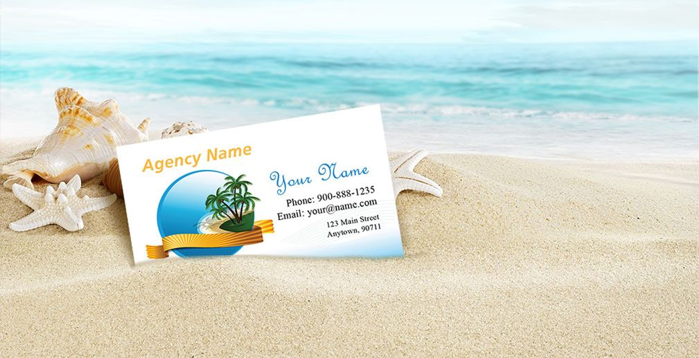 Tourism Travel Business Cards For 0 04 Per Card 2 Sided Free Templates For Tourism And Travel Agents Tour Operato Business Travel Tourism Tourism Brochure
