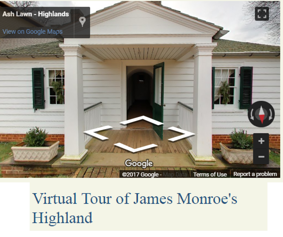 Visit the plantation home of James Monroe