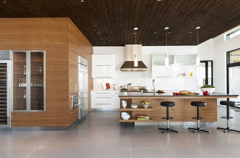 20 well designed kitchens featuring synthetic countertop kitchen rh pinterest co uk