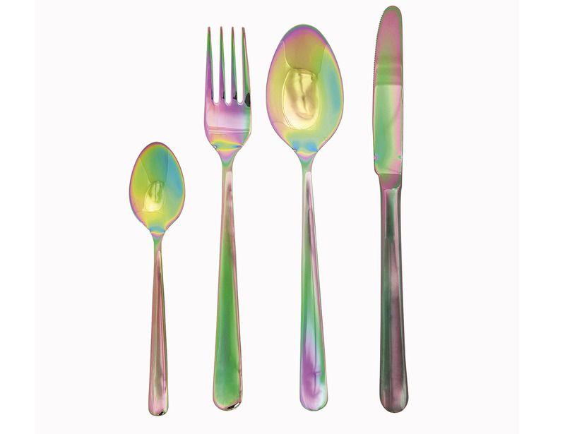 Efecto tornasol | Tenedores, Cuchillos y Acero