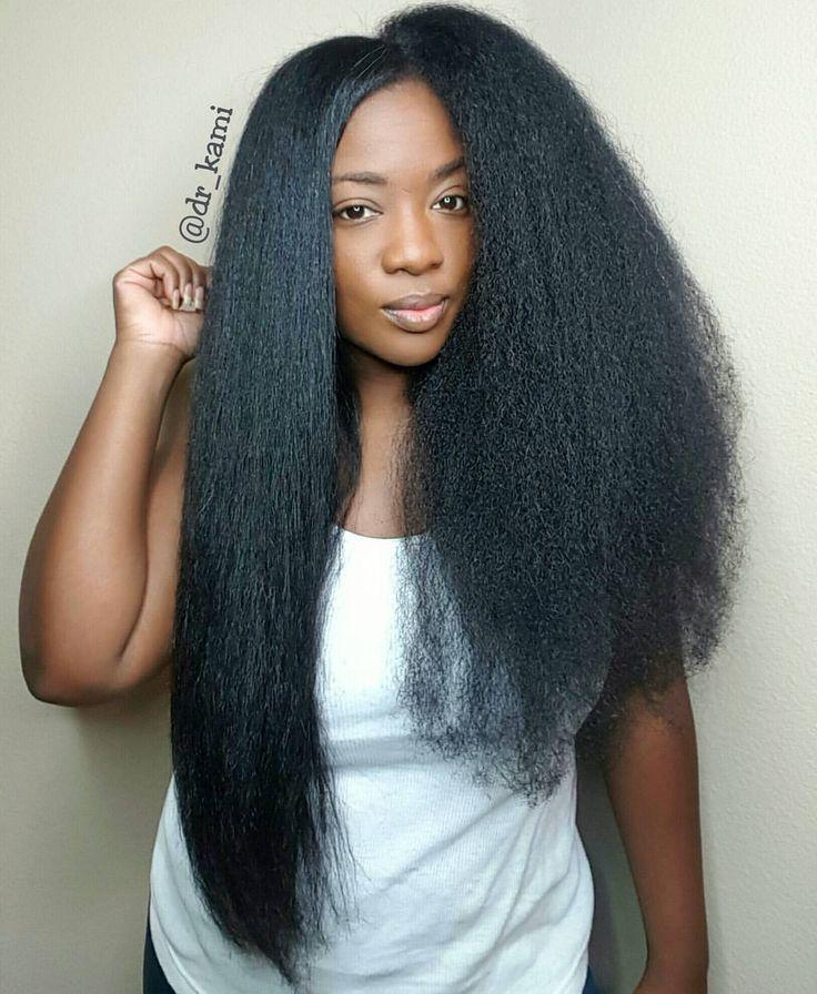 Entretien cheveux crepus long