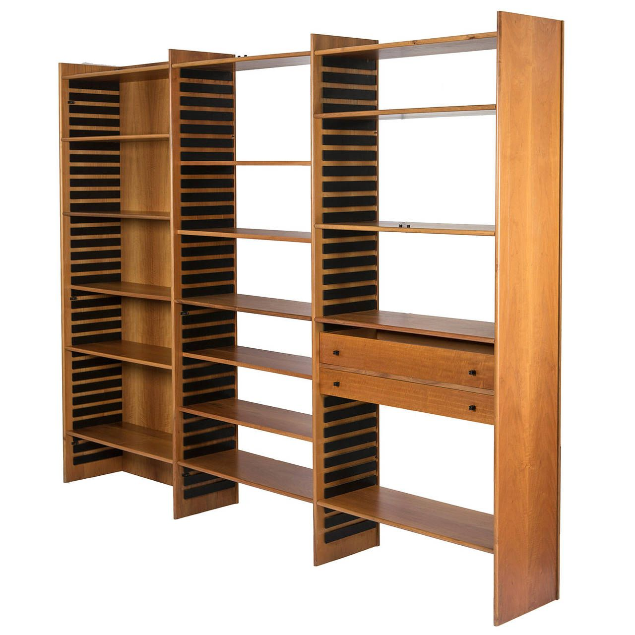 Materita Bookcase by Gianfranco Frattini for Bernini