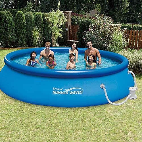 Summer Waves 15ft X 36in Quick Set Inflatable Above Ground Swimming Pool Sale Backyardequip Com In 2021 Above Ground Pool Pumps Summer Waves Above Ground Swimming Pools