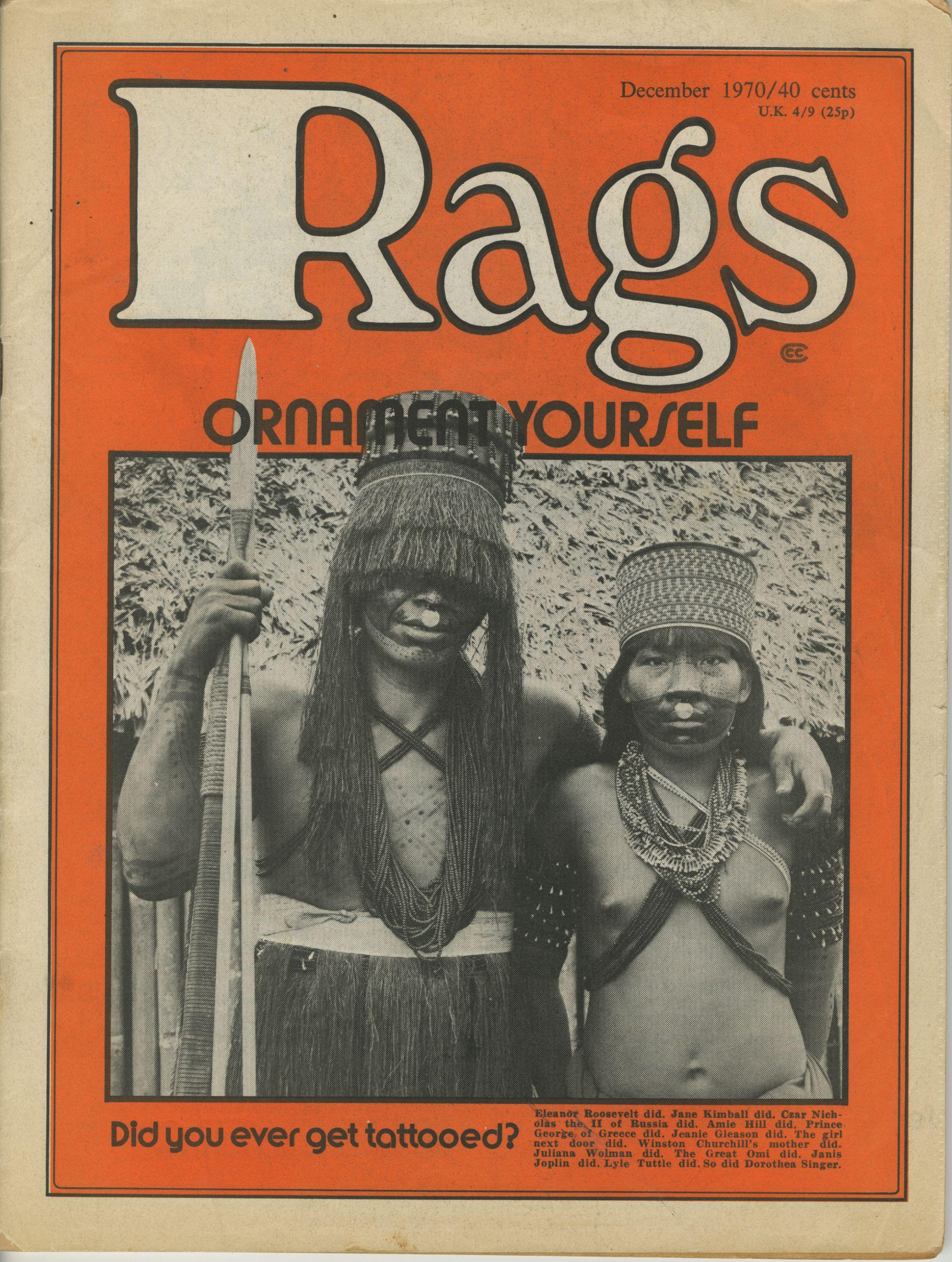 Rags – 1970