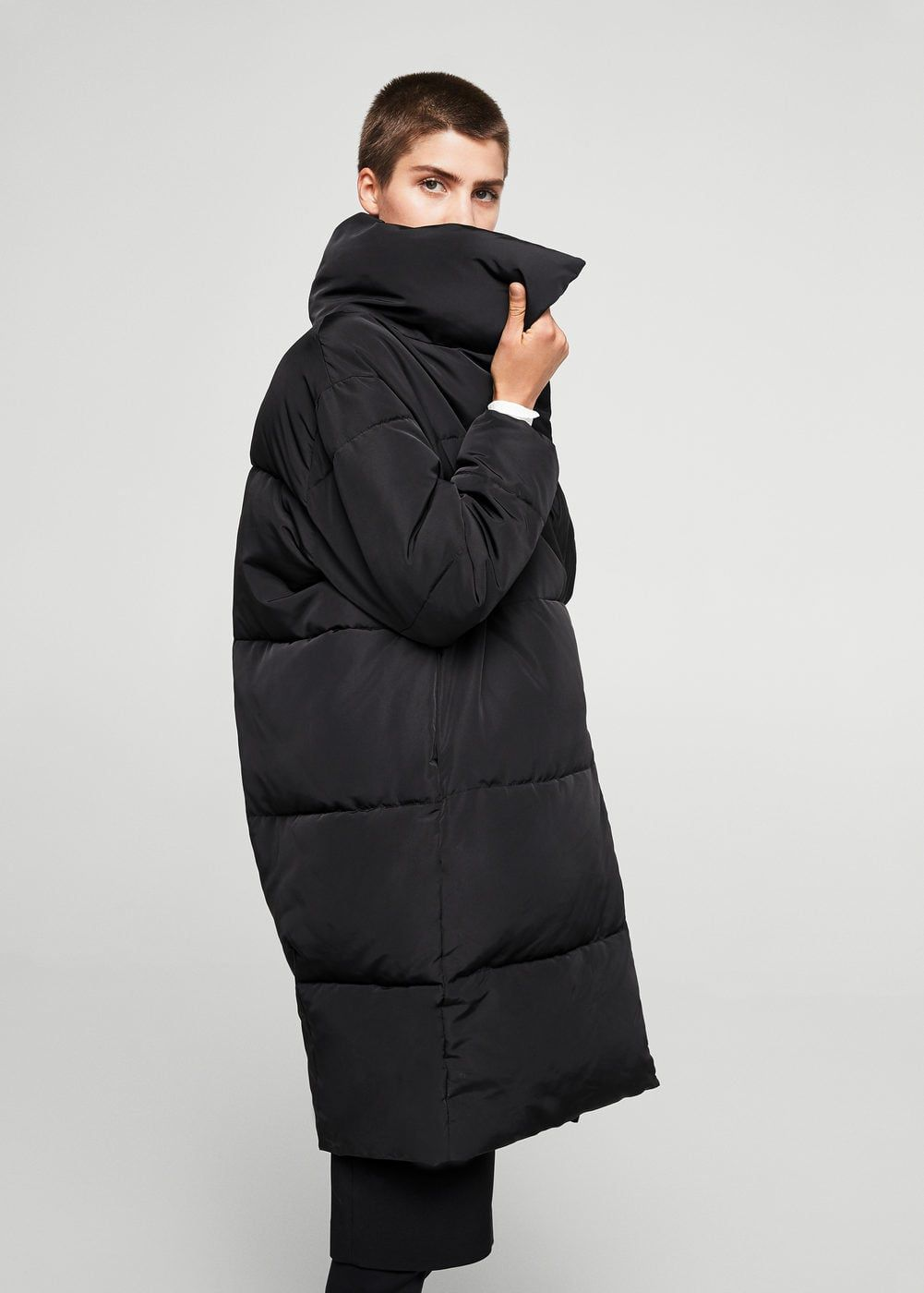 c9073ea3b Oversize quilted coat - Woman | ➕puffers➕ | Oversized puffer coat ...