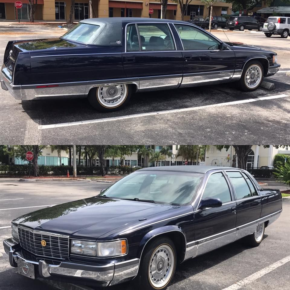 1993 Cadillac Brougham For Sale: Classic Cruisers & Other Vehicles