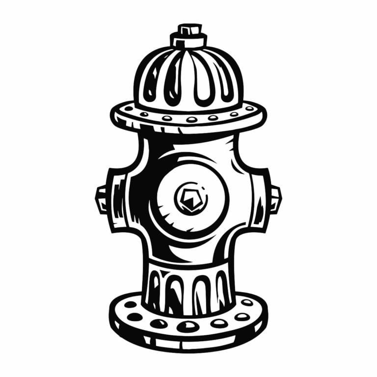 Fire Hydrant Coloring Sheet Fire Hydrant Coloring Pages Coloring