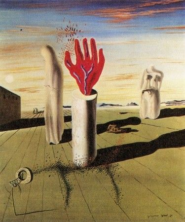 Salvador Dali 「Simulation of the Night」