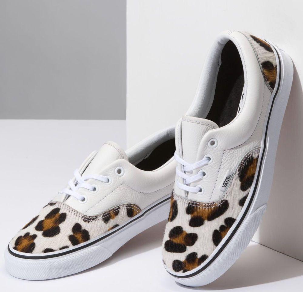 Vans Calf Hair Leopard Era Shoes | Vans