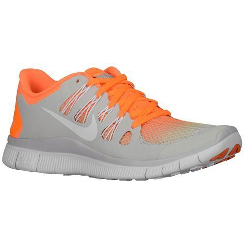Nike Free 5.0+ Breathe - Women's - Running - Shoes - Bright Citrus/White